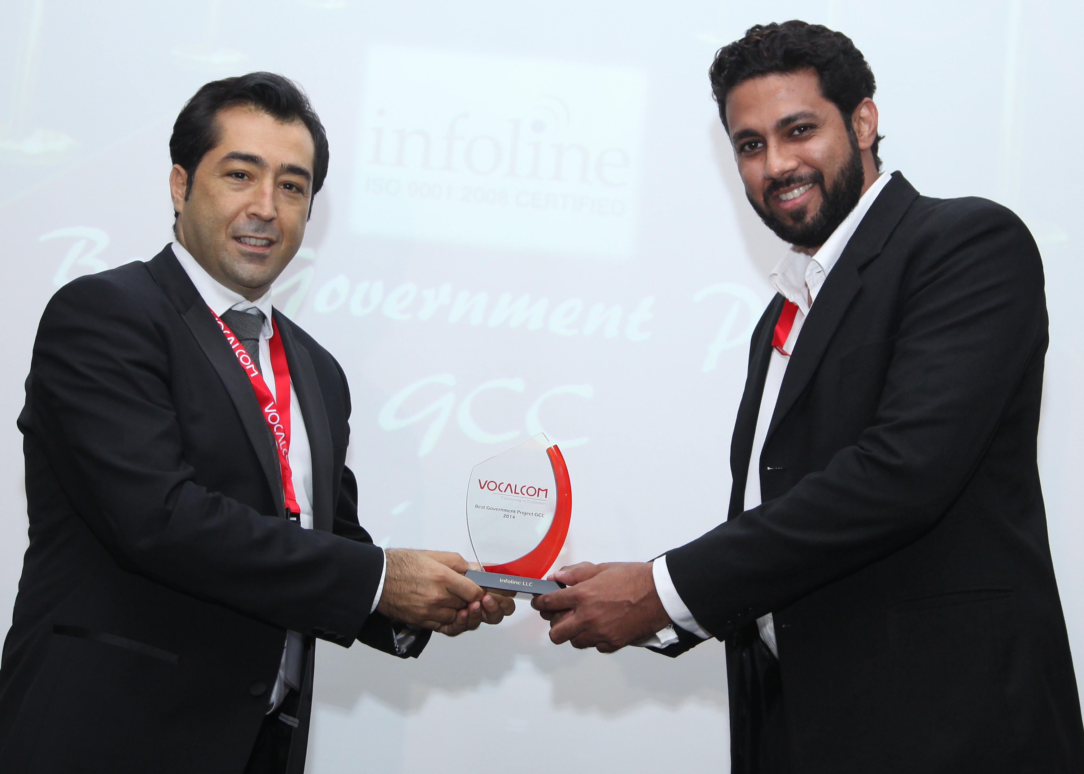 Infoline wins the best Government project award