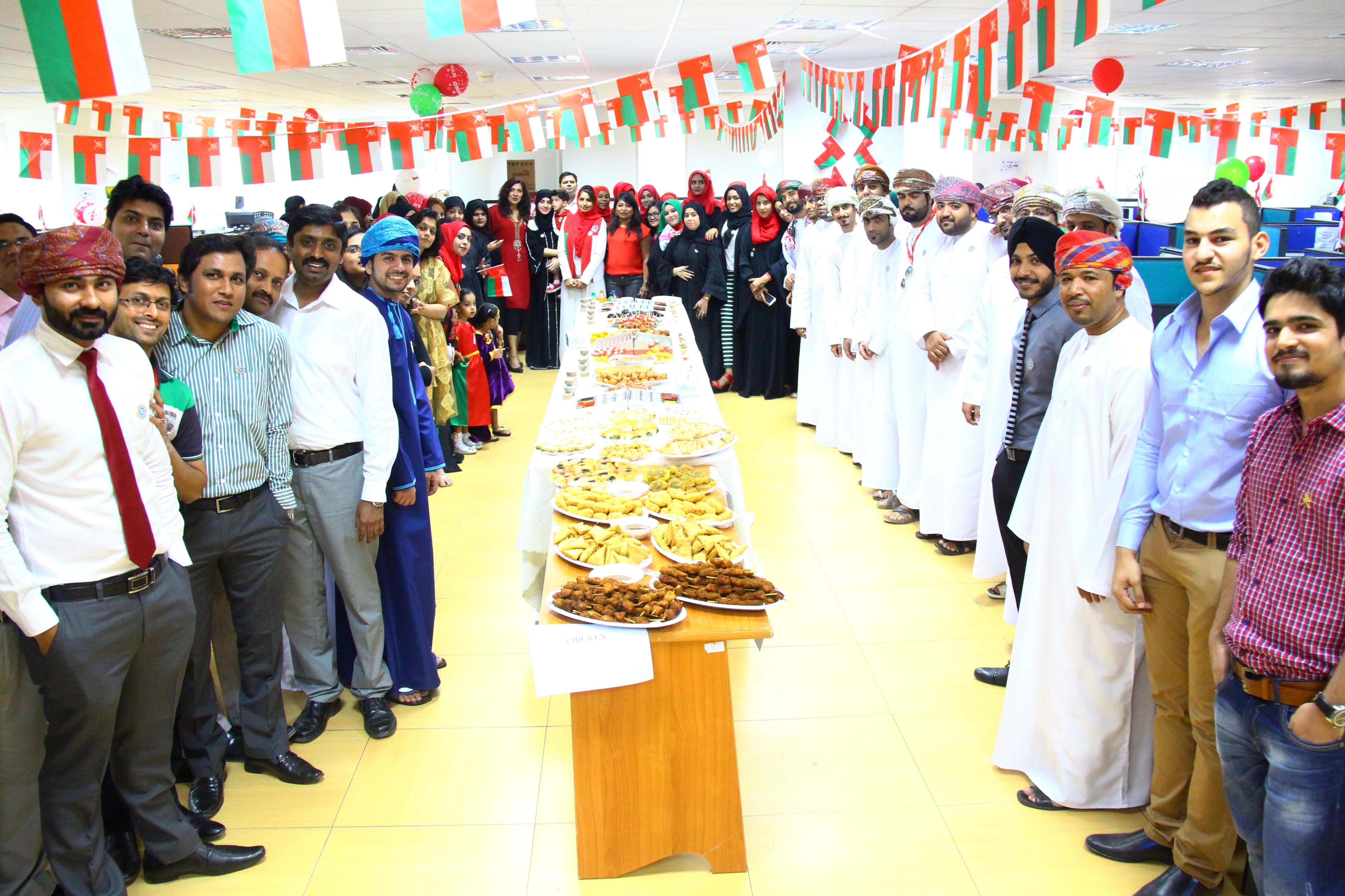 Infoline celebrates 45th National day